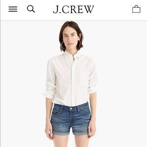 J Crew Denim short in Merrill wash Size 26